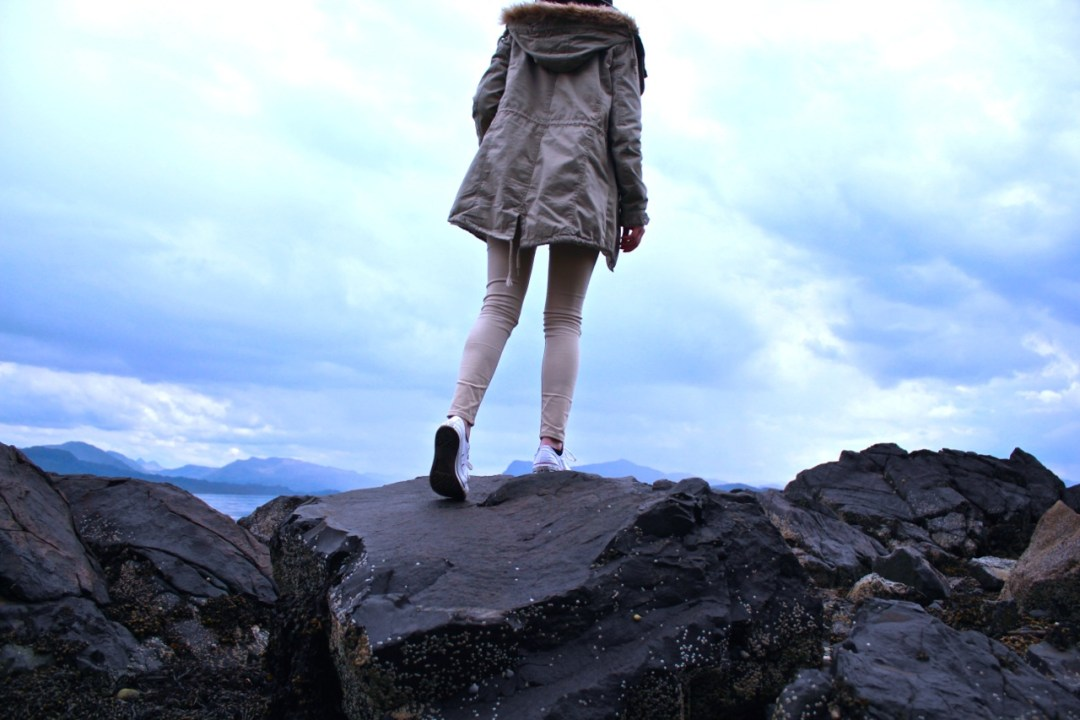 adventure in scottish highlands