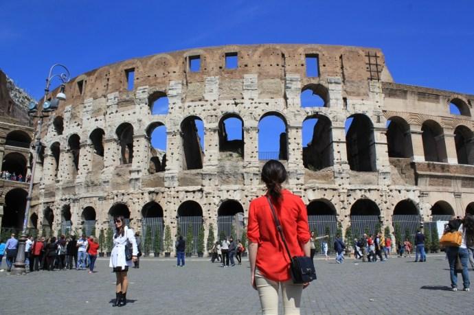 Rome chiếm trọn trái tim tuổi 17 sôi nổi của tôi khi lần đầu cùng cha ra nước ngoài.