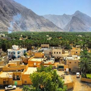 Brooke in Oman