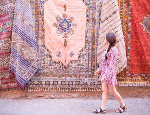 Brooke Saward in Morocco