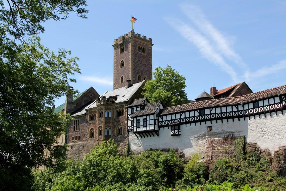 Fairy Tale German Castles, Wartburg Castle