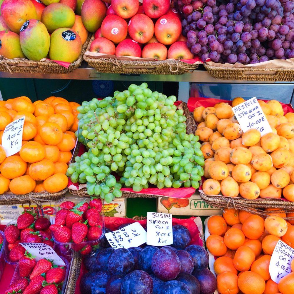 Rome fresh fruit