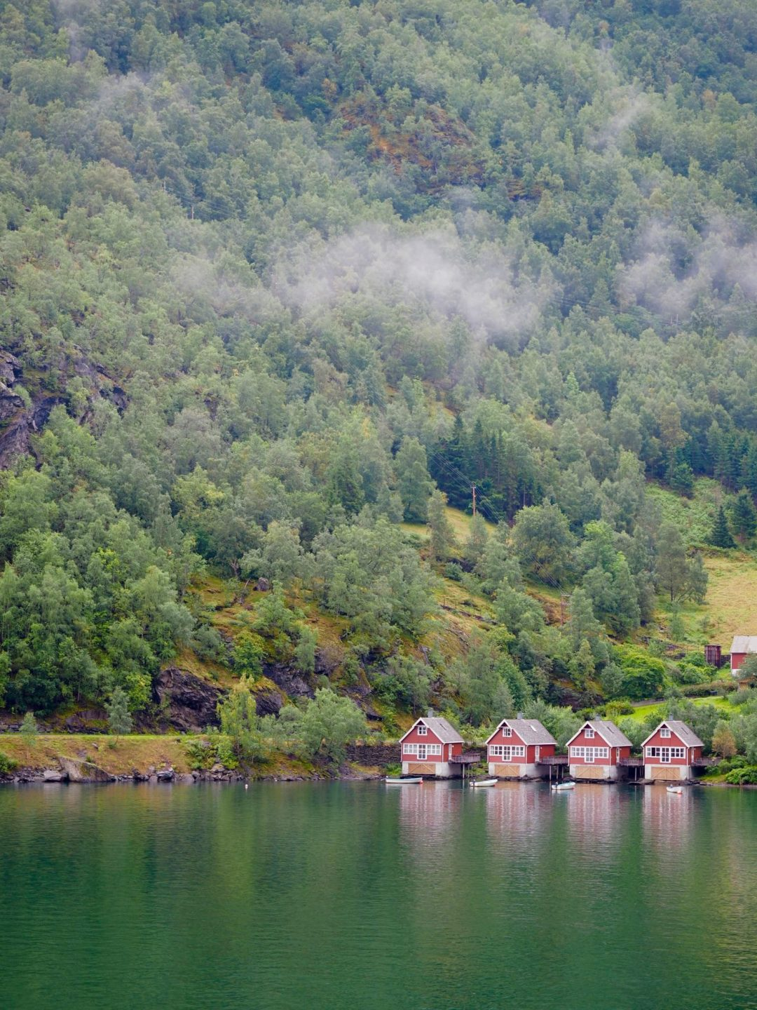 In To The Norwegian Fjords Visiting The Village Of Flam