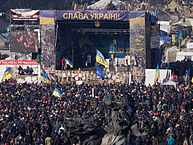 """2014-02-21 11-04 Euromaidan in Kiev"" by Amakuha - Own work. -"