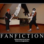 fanfiction poster - Andrew Evans flickr