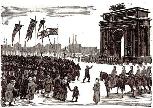 October Revolution - public domain