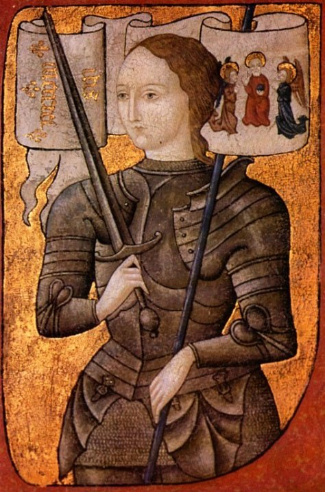 Joan of arc miniature graded by Miniature from the 15th century - Licensed under Public domain via Wikimedia Commons