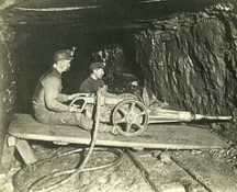 Mining Bituminous Coal in Pennsylvania about 1900