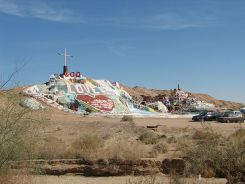"""Salvation Mountain folk art"". cc 3.0"