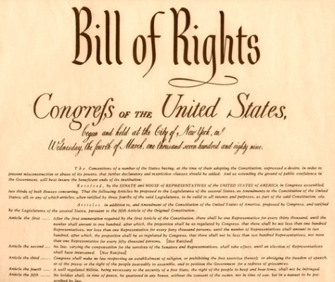 bill of rights congress government
