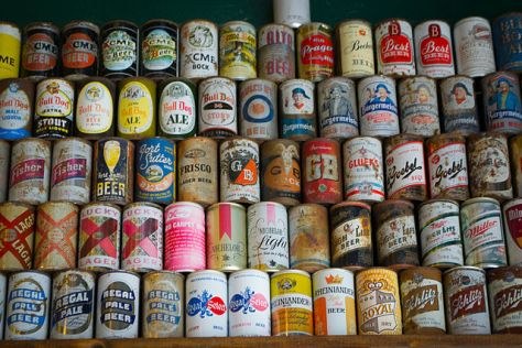 Beer cans by Visitor7