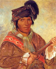 Coeehajo, Chief, 1837, Smithsonian American Art Museum