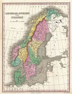 371px-1827_Finley_Map_of_Scandinavia,_Norway,_Sweden,_Denmark_-_Geographicus_-_Scandinavia-finley-1827