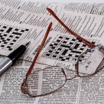 crossword puzzle newspaper