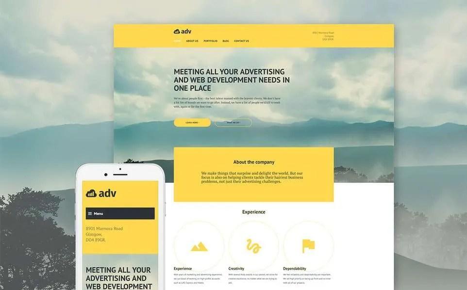 ADV WordPress Theme