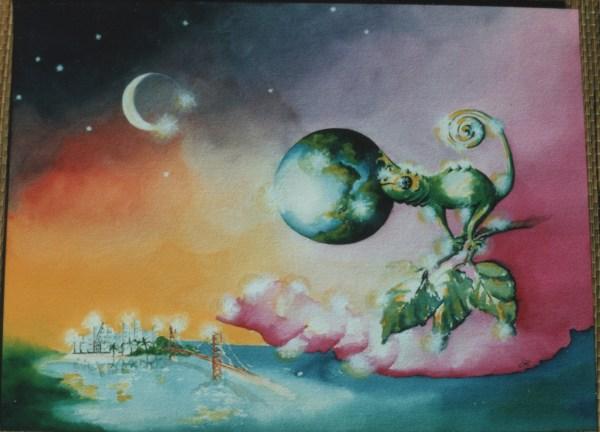 Chameleon by visionary artist Madeleine Tuttle