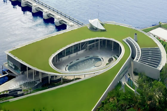 Marina Barrage – Places in Singapore