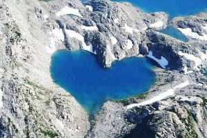 Top 30 Heart-Shaped Lakes in the World