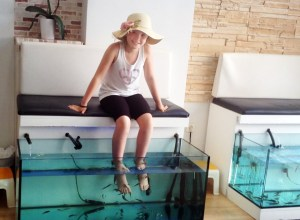 Heraklion fish spa - @World Travel Mama
