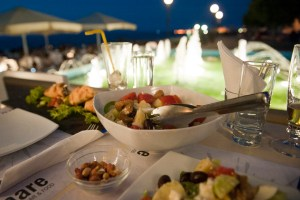 Heraklion, Cretan salad seaside - @World Travel Mama