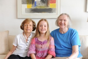 Norica, Gran and Elise in Salzburg - @World Travel Mama