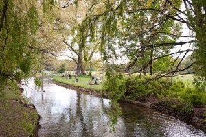 dreamy English Garden Munich - @World Travel Mama
