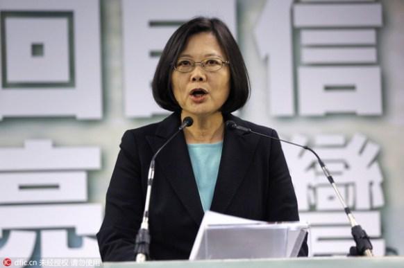 Dr. Tsai Ing-wen / Wally Santana / AP