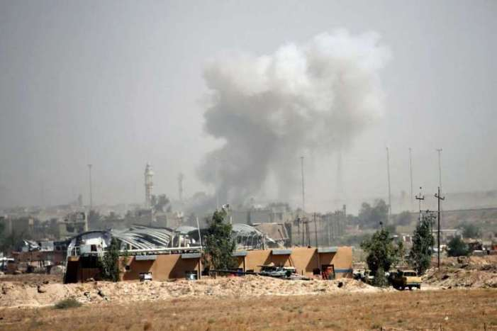 Iraqi forces re-capture center of Fallujah from ISIL