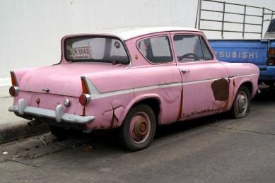 Bangkok - Vieille voiture