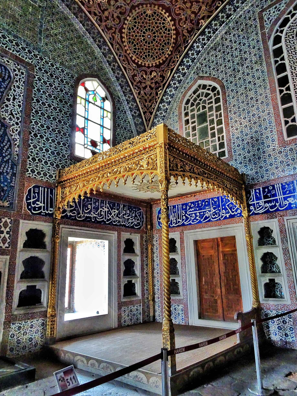 Topkapi Palace Harem Privy Chamberof Murat III 3