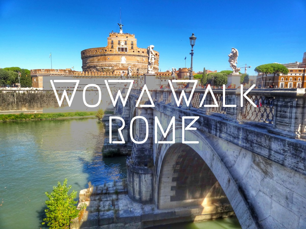 What to do when only one day in Rome   Walking map