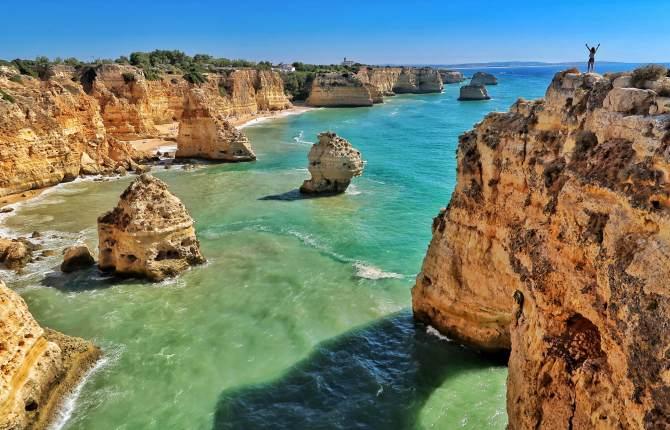 Algarve Portugal Cliffs