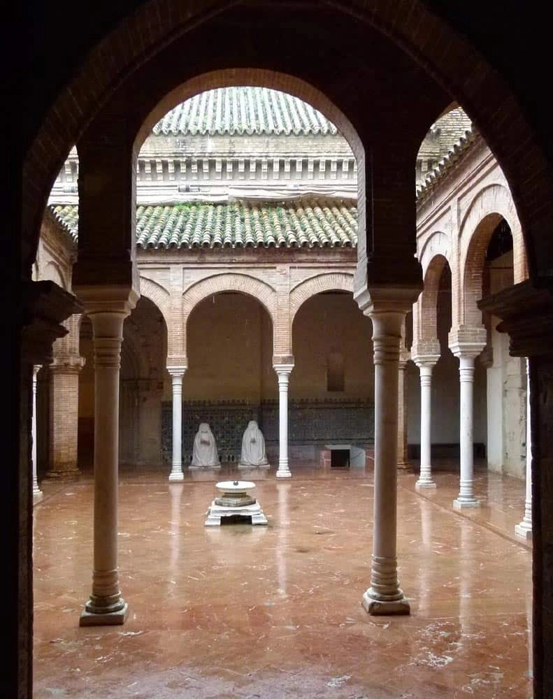 Courtyard at the Contemporary Arts Centre, Seville