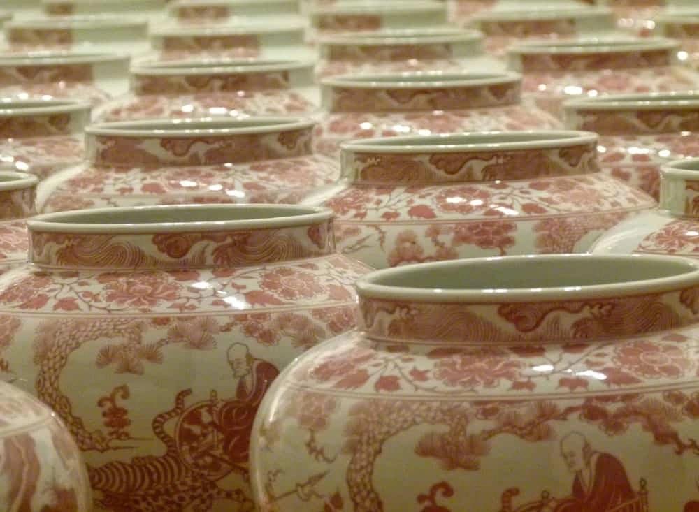 Porcelein Jars, Contemporary Arts Centre, Seville