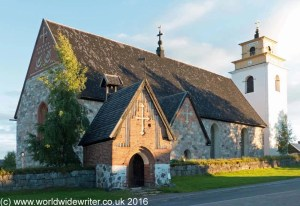 Gammelstad church