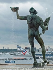 Poseidon, Millesgården, Stockholm