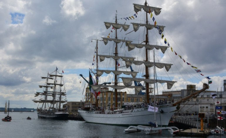 PHOTOREPORTAGE. La fête maritime internationale de Brest 2016