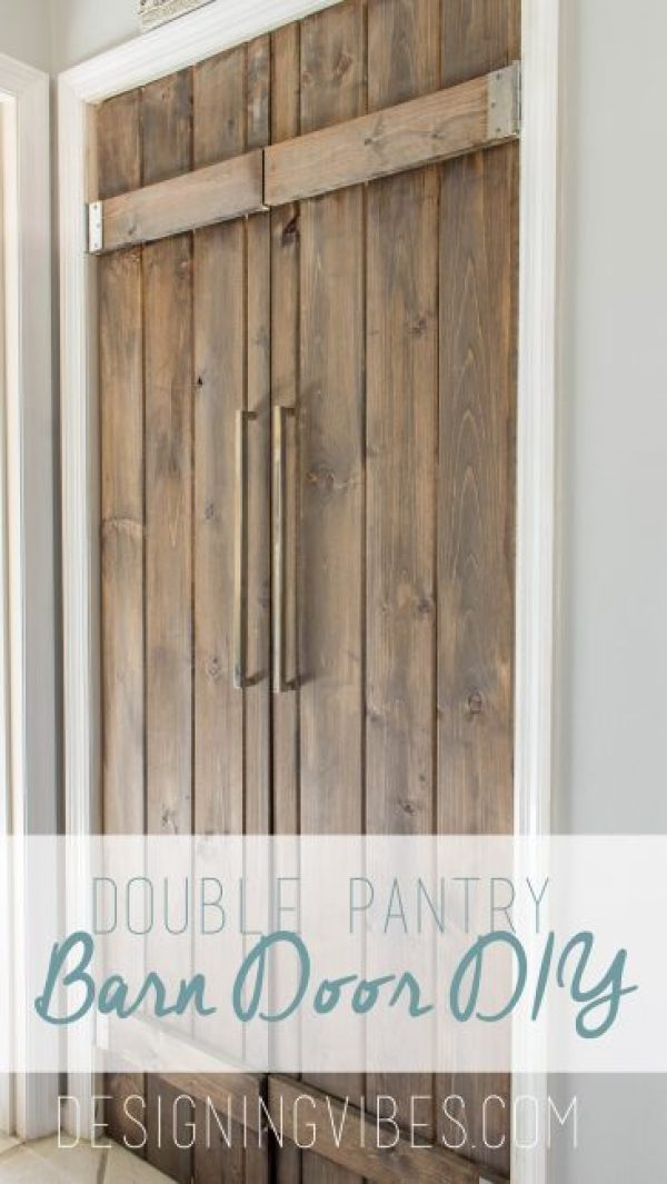 Double Pantry Barn Door