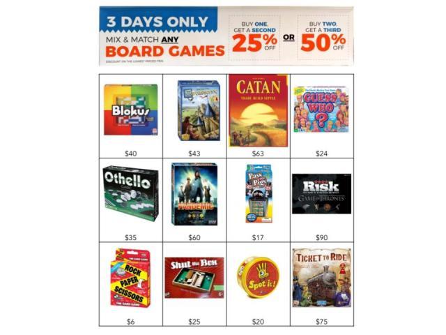 WYR Board Games