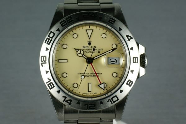 Cream Dial Explorer II HQ Milton
