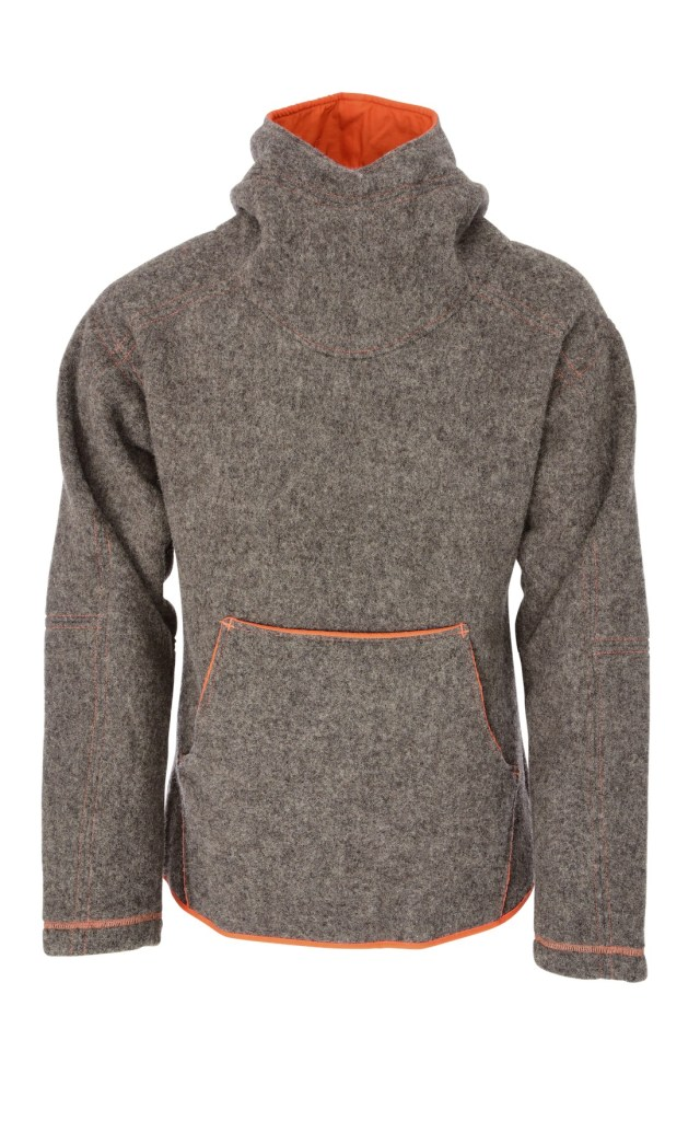 'Rugiewit is our first model for men. The elegant wool of the gray-wool pomeranian country sheep, a timeless cut and perfect workmanship make this sweater unique' - taken from the Nordwolle website