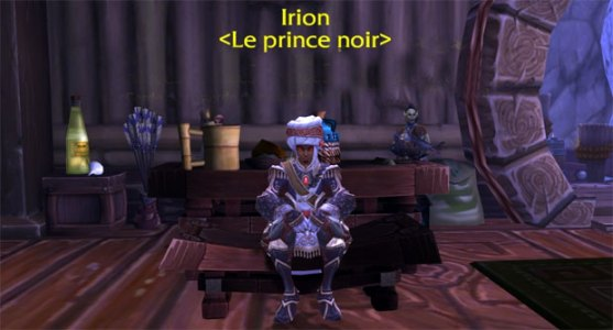 MoP prince noir quête légendaire