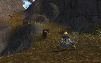 Grômulo [Grummel] em um caminho no Monte Kun-Lai