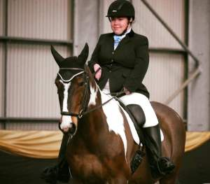 Kyrby Brown and Sam in Para Home International 2