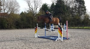 Anna Power show jumping