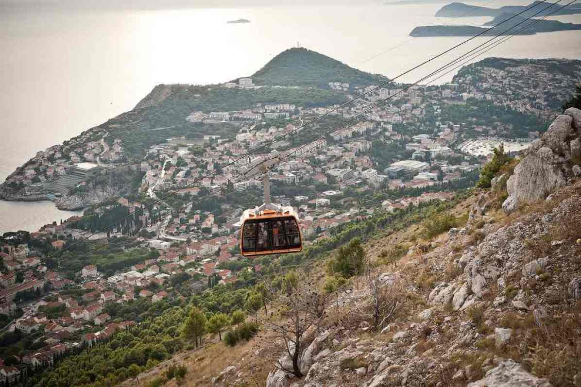 Dubrovnik Cable Car - by Chris Guy - pixelhut585:Flickr