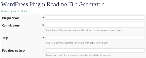 readmefilegenerator