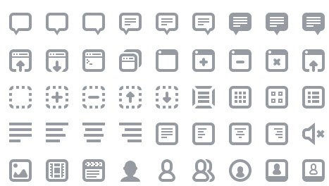 Batch Icon Set