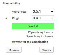 Plugin Compatibility