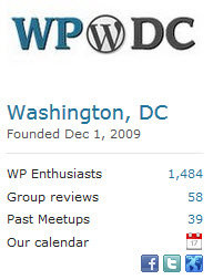 WordPress DC Meetup